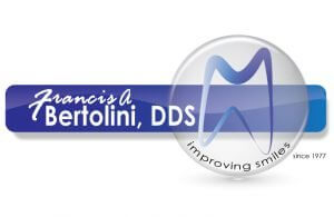 Francis A. Bertolini, DDS logo with tooth in a circle