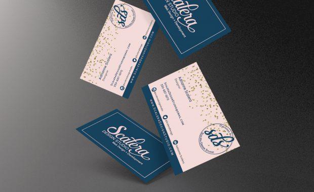 Scalera Design Studio business cards
