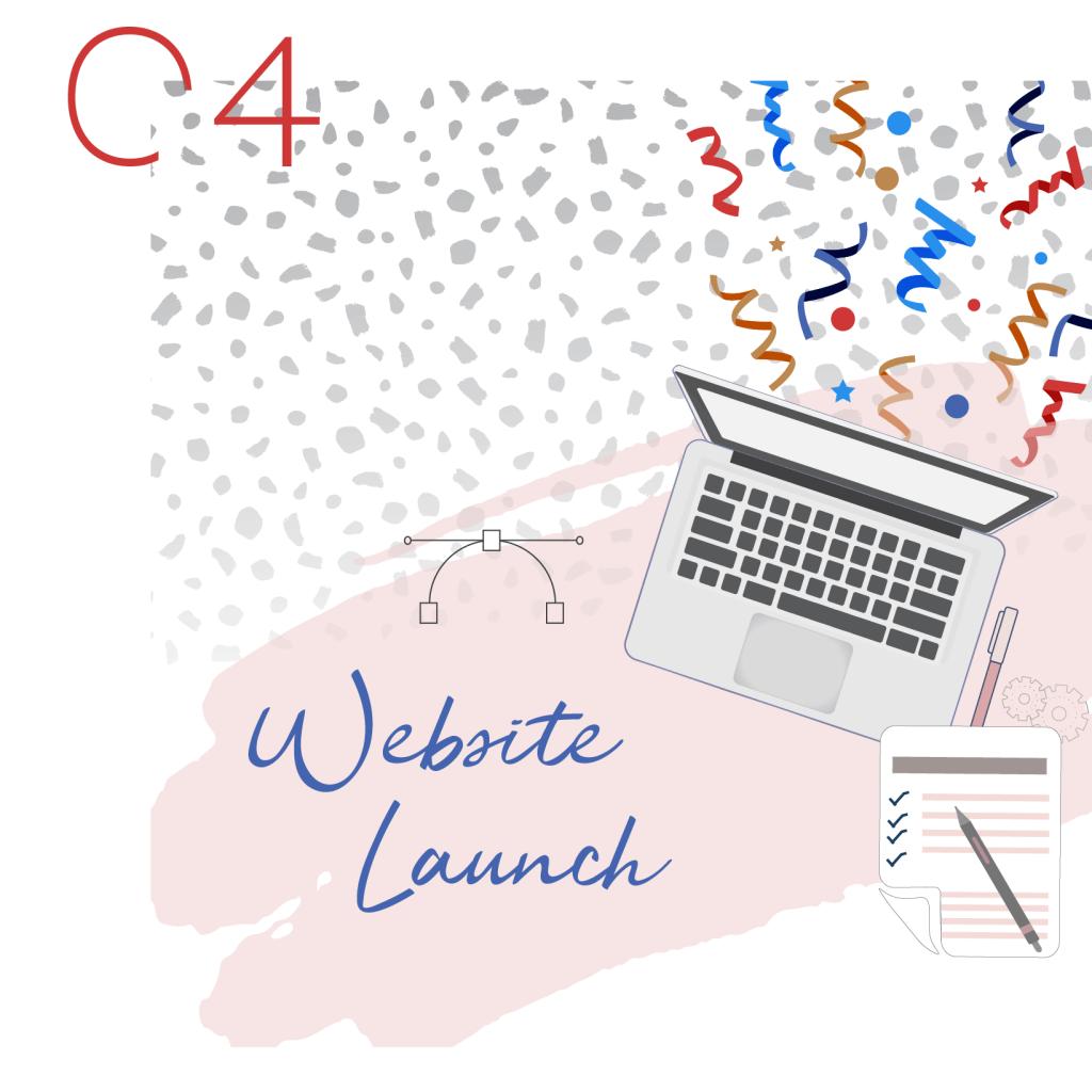 website launch graphic Scalera Design Studio
