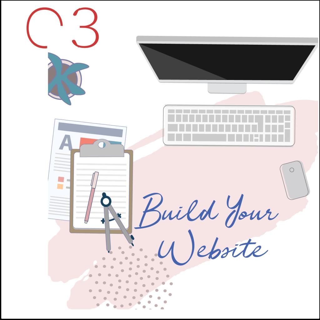 graphic of website design Scalera Design Studio